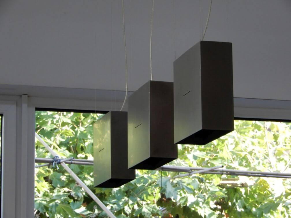 Lampen aus Stahl